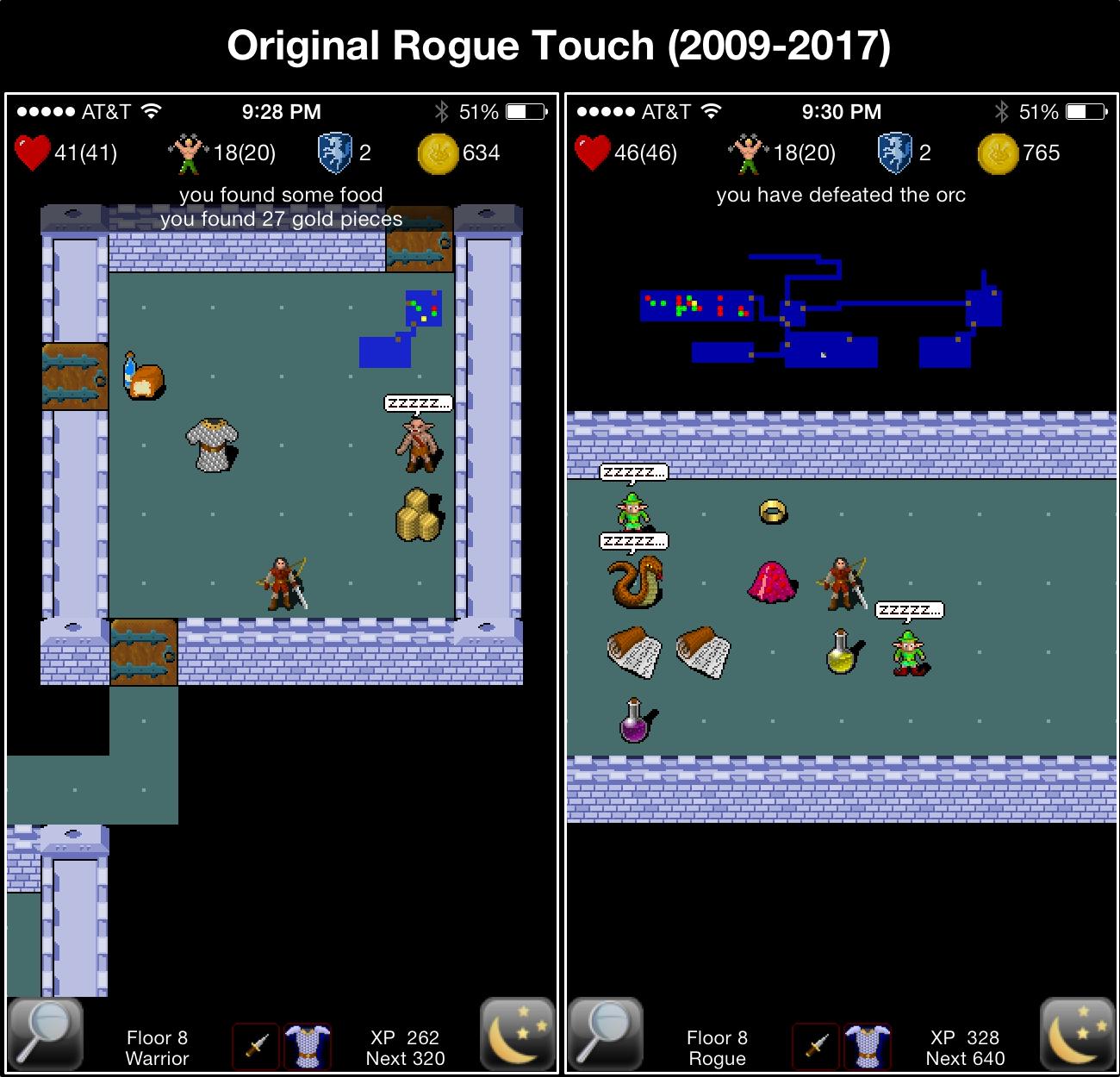 Original Rogue Touch (2009-2017)